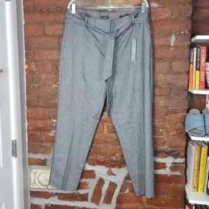 LOFT Ann Taylor Tweed Tie Waist Marissa Pants 14